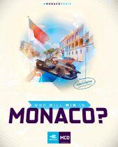 Monaco E-Prix Poster 2019