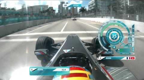 Miami ePrix - onboard lap