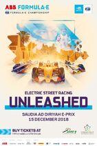 Ad Diriyah E-Prix Poster 2019