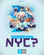 New York E-Prix Poster 2019