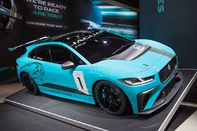 Jaguar I Pace eTrophy car 2018