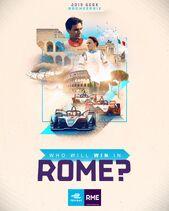 Rome E-Prix Poster 2019