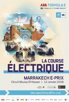 Marrakech E-Prix Poster 2019