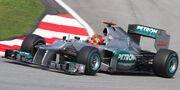 Michael Schumacher 2012 Malaysia Qualify