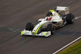 Barrichello Barcelona testing