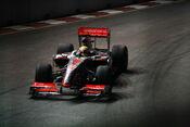 Lewis Hamilton 2009 Singapore