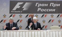 Russia Grand Prix sign