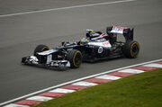 2012 Canadian Grand Prix Bruno Senna Williams FW34-02