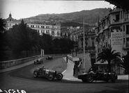 Passing at the 1932 Monaco Grand Prix