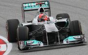 Michael Schumacher 2011 Malaysia Qualify