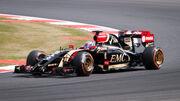 Lotus E22 Grosjean Silverstone 2014 (2)