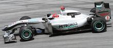 Michael Schumacher 2010 Malaysia 2nd Free Practice