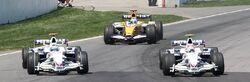 Kubica + Heidfeld + Alonso 2008 Canada