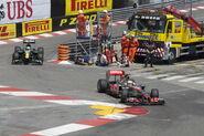 2011 Monaco GP Lewis Heikki