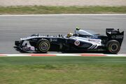 Williams FW33 Maldonado 2011 Spanish GP