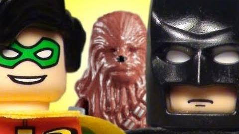 The Lego Batman, Spider-Man, & Chewbacca Movie
