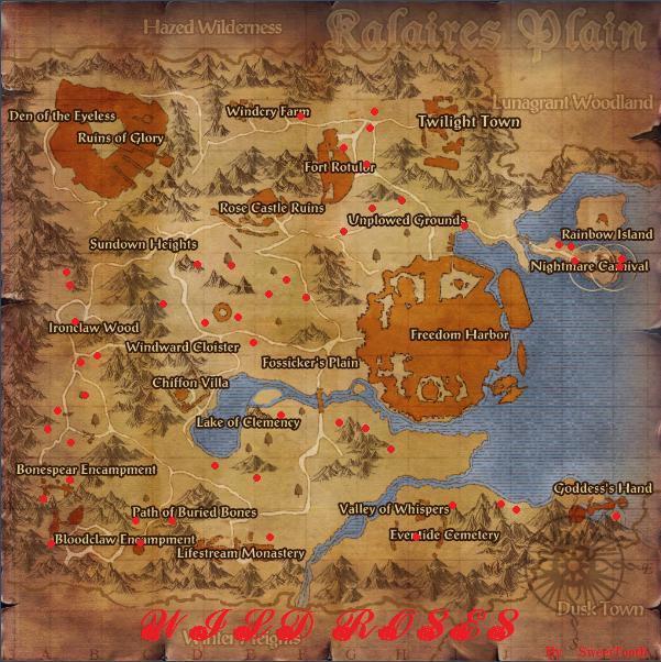 Wildrosesbotanymap