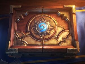 Hearthstone card-box cinematic