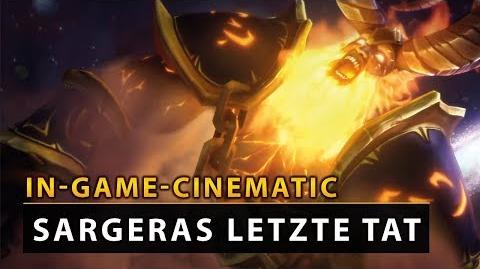 WoW Legion Cinematic - Antorus Sargeras letzte Tat DE Vanion.eu