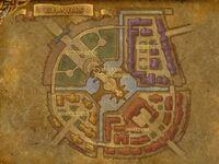 Gilneas Stadt Karte
