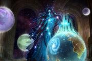 Algalon Ulduar Dungeon BLZ Artwork-03
