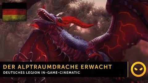 DE WoW Legion - In-Game-Cinematic Der Alptraumdrache erwacht in Val'sharah Vanion.eu