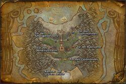 Strand der Uralten Karte