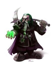 Dwarf by victor maristane, artstation