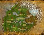 Sholazarbecken Karte