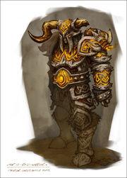 Rüstungsset Tier10 - raid warrior armor artwork
