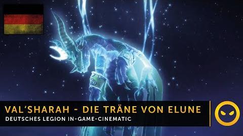 DE WoW Legion - In-Game-Cinematic Die Träne von Elune Vanion.eu