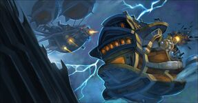 Icecrown Citadel Air Battle Artwork-full