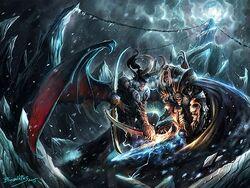 Unholy Blizzard by Jian Guo