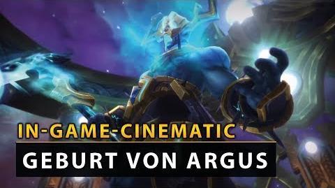 WoW Legion Cinematic - Antorus Die Geburt von Argus Vanion