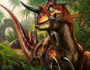 Wilder Raptor TCG WoE 178