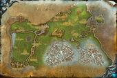Grizzlyhügel Karte