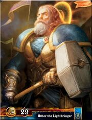 Uther the Lightbringer TCG WotA-H 010 B