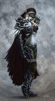 Lady sylvanas windrunner by fekb-d34ngdk-1-