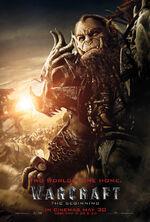 Warcraft Blackhand UK 1 Sheet