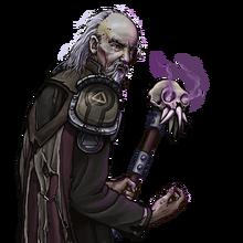 Druid-drawing-necromancer