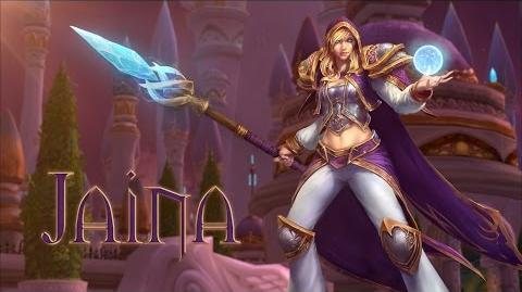 Heroes of the Storm Jaina-Trailer