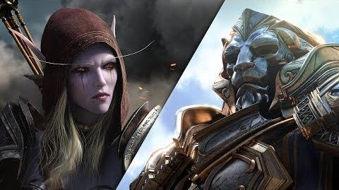 World of Warcraft Battle for Azeroth Cinematic-Trailer