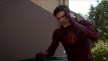 Barry Allen experiencing dizzy spells