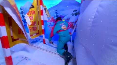 AVANT-PREMIERE Fort Boyard 2017 - Samuel ETIENNE dans l'épreuve du Ski (12 août 2017)