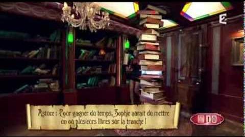 Fort Boyard 2013 - Bibliothèque