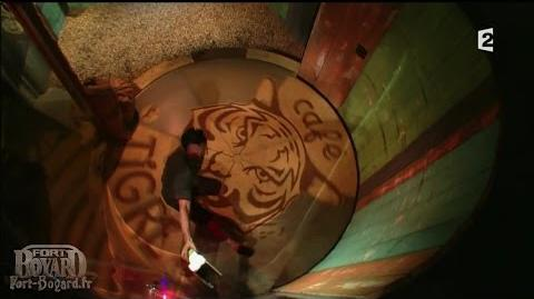 Fort Boyard 2012 - Willy Rovelli dans le Percolateur