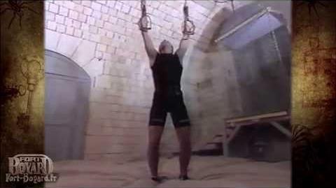 Fort Boyard 1995 - Les étriers suspendus sans étriers !