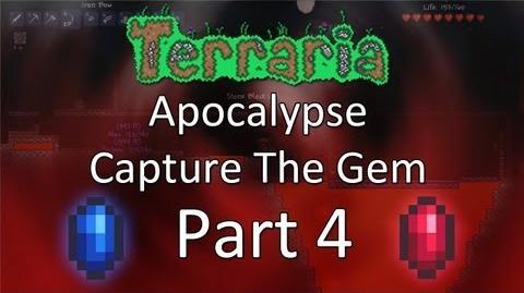 Terraria Apocalypse Capture the Gem — Part 4 — Stealing Immunity!