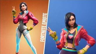 *NEW SKIN* ROX (Skin Fortnite) FORTNITE EMOTE