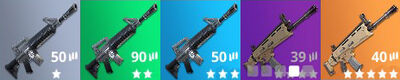 Battle Royale Weapon Grades